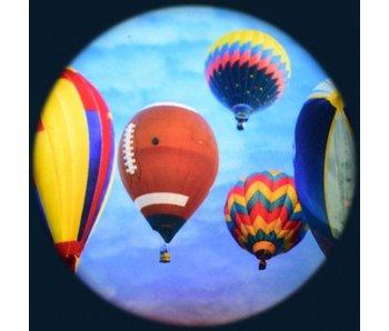 """Magnetisch effectwiel 6"""" - thema: Balloon festival"""