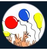 """OPTIkinetics Magnetisch 6"""" Effectwiel thema: Balloons"""