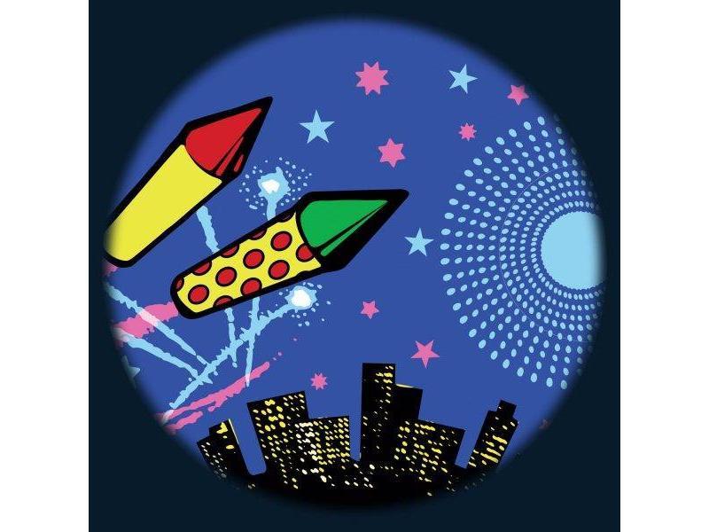 "OPTIkinetics Magnetisch 6"" Effectwiel thema: Firework"