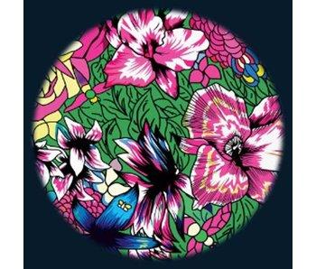 """Magnetisch 6"""" Effectwiel thema: Floral"""