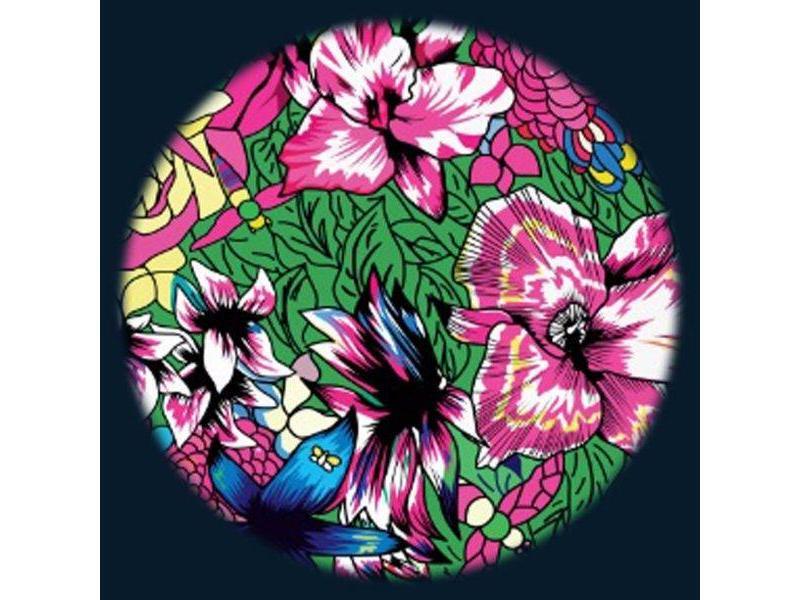 "OPTIkinetics Magnetisch 6"" Effectwiel thema: Floral"