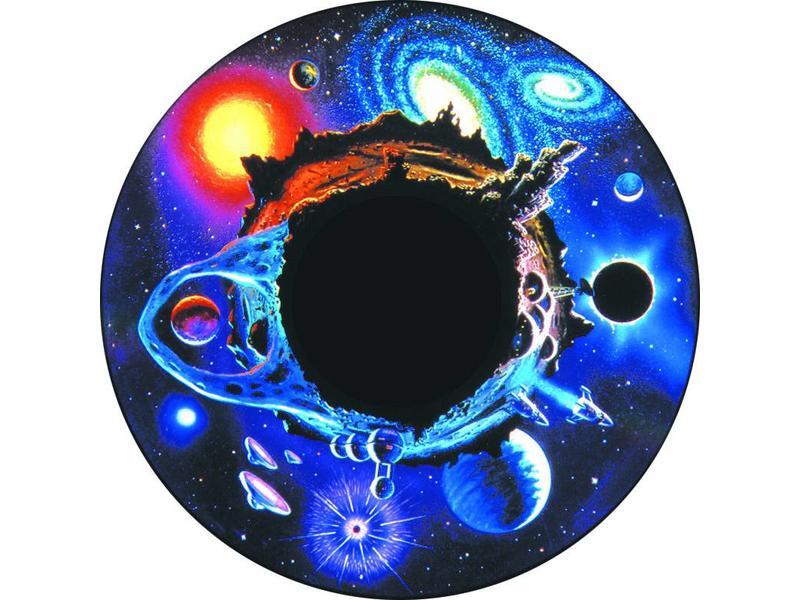 "OPTIkinetics Magnetisch 6"" Effectwiel thema: Space Ritual"