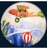 "OPTIkinetics Magnetisch 6"" Effectwiel thema: Aviation"