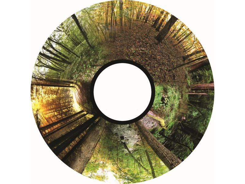 """OPTIkinetics Magnetisch 6"""" Effectwiel thema: Seasoned Woods"""