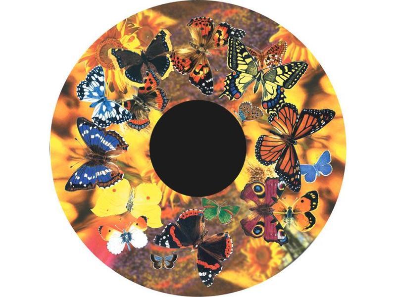 """OPTIkinetics Magnetisch 6"""" Effectwiel thema: Butterflies"""