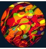 """OPTIkinetics Magnetisch 6"""" effectwiel vloeistof (Cosmic Flare)"""