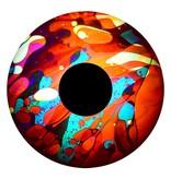 """OPTIkinetics 6"""" Effectwiel vloeistof   roze/geel/blauw/rood"""