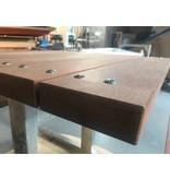 Atelier Michel Koene Picknicktafel AMK verzinkt, 90cm breed, extra zwaar