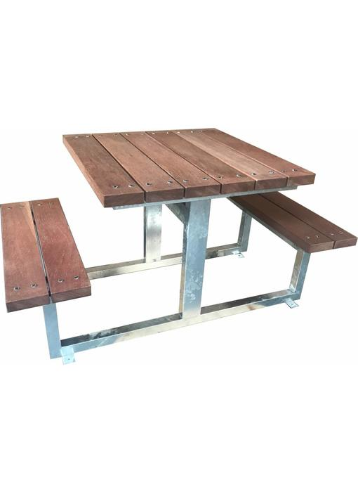 Picknicktafel AMK verzinkt, extra zwaar uitgevoerd