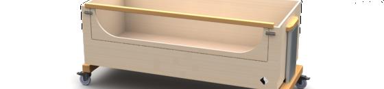 Bedden met bedhekken t/m 50cm