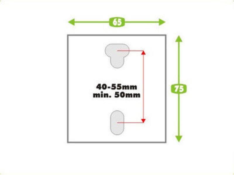 Marathon Schommelophanging gelagerd Marathon Basis voor beton