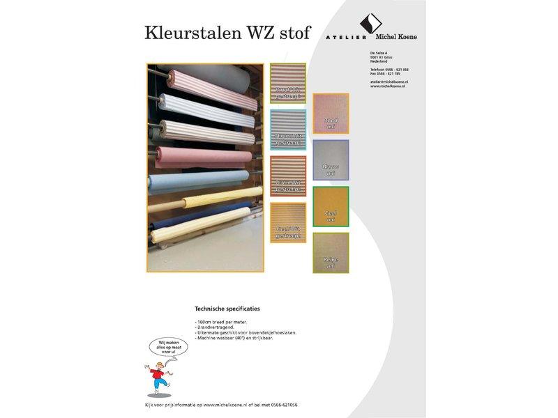 Atelier Michel Koene Afritsbaar bovendek, WZ-stof