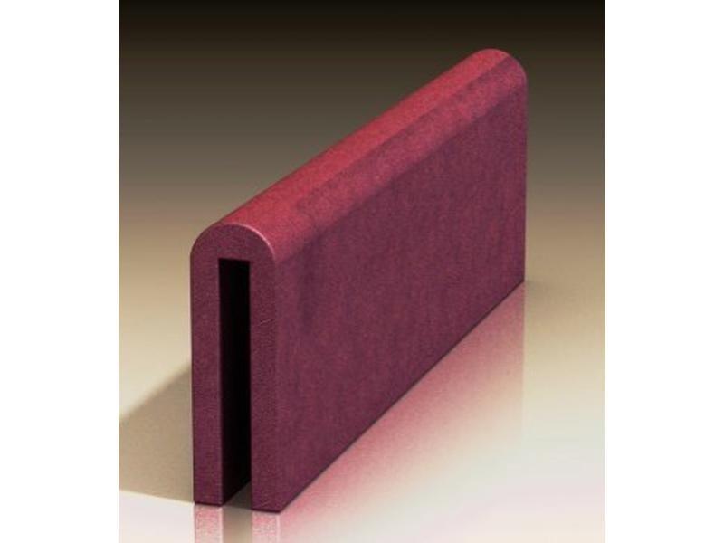 Atelier Michel Koene Bedhekzadel kort,Bisonyl 80/100 x 30/40cm