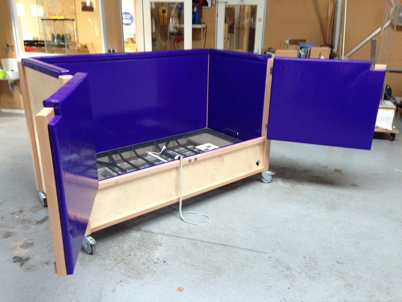 Atelier Michel Koene Bed Ûle Kompakt met hoog/laag bodem (maatwerk)
