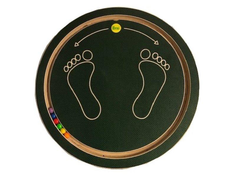 Erzi Balansplank Basic Cirkel   40cm, 8cm hoog