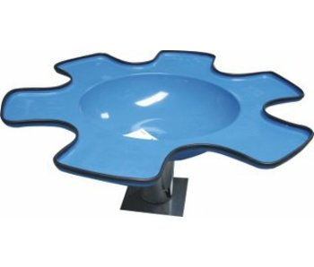 Zandwatertafel polyester- in hoogte verstelbaar