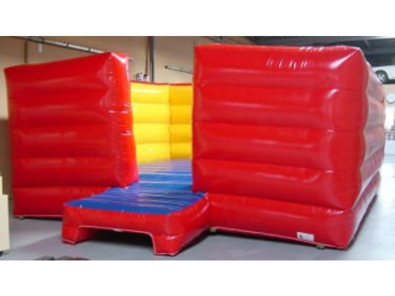 Sidijk Luchtkussen- elastiek incl opstap   500 x 500cm rand 200