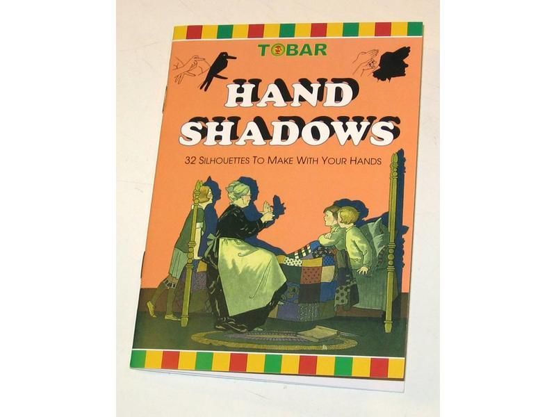 """Handschaduw boekje """"Hand Shadows"""""""