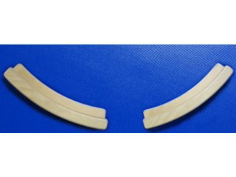 Wandhouderset voor ronde Doe Tastwand of Spiegel   t.b.v. 120cm rond