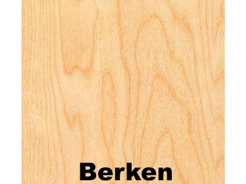 Atelier Michel Koene Meerprijs tafelblad HPL- dessin beuken of berken   t/m 240x120cm