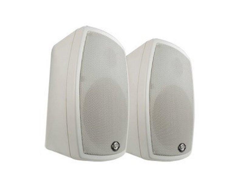 Luidsprekerset- sterke uitvoering- wit- waterbest