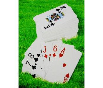 Kaartspel voor buiten