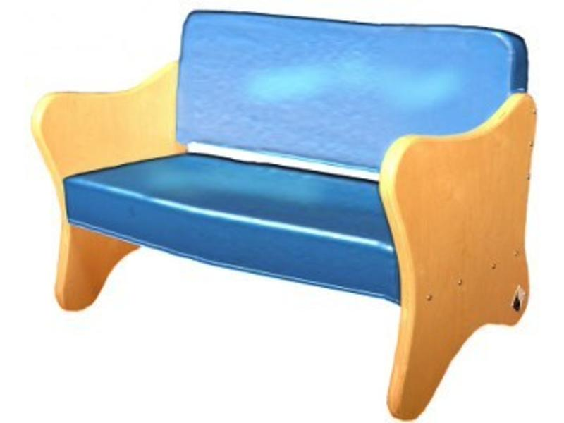 Atelier Michel Koene Bank Orion Design 3 zits, Bisonyl   150 x 65 x 80cm