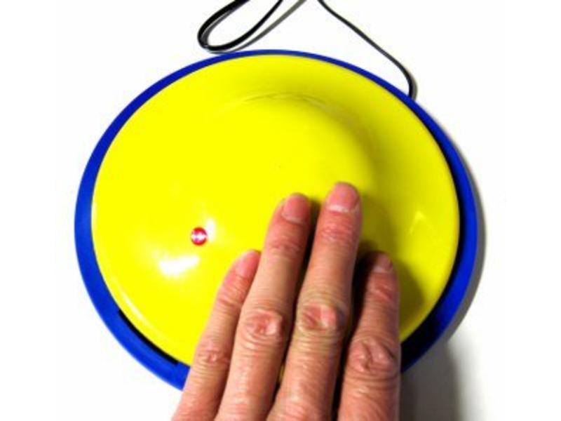 Saucer schakelaar - instelbare drukregeling-   Ø 17,5 x 3,5cm
