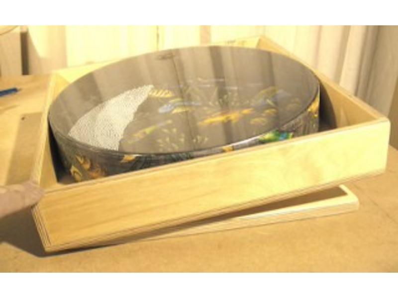 Ocean Drum houder   t.b.v. 30cm