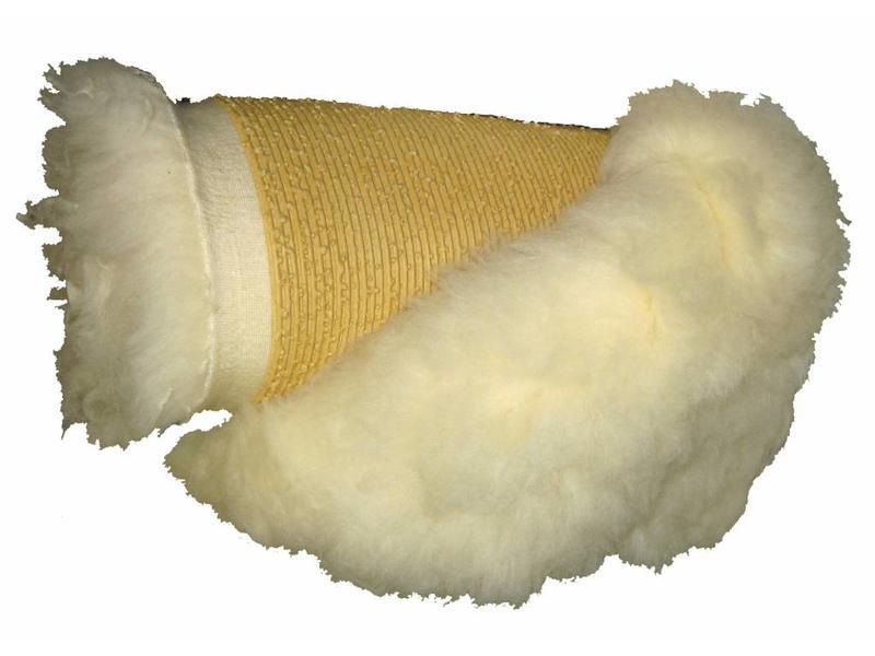 Atelier Michel Koene Schommelsnoezelstoeldekje, schapenvacht