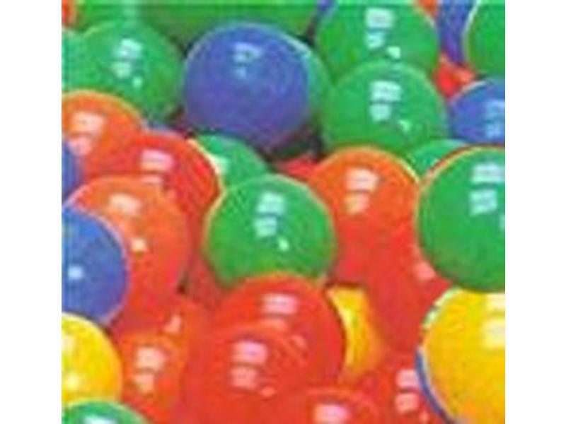 Ballenbadballetjes-  mix 5 kleuren 1000st - 6cm