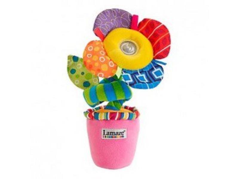 Lamaze Lamaze Licht en geluiden bloem   40 cm