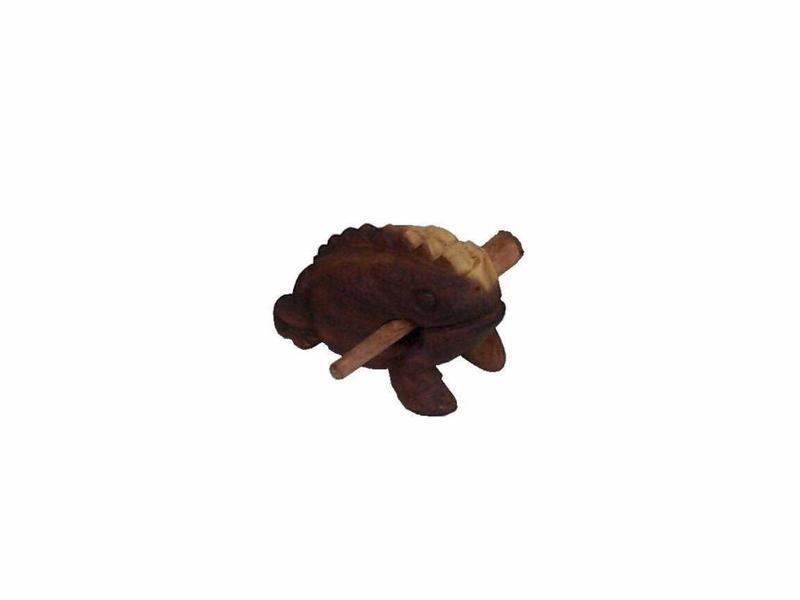 Goldon Houten Kikker rasp middel   11cm