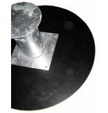 Atelier Michel Koene Zandwatertafel voetplaat - betonplex   +/-120cm Ø