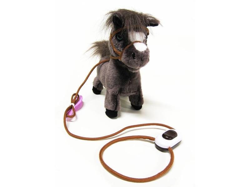 Pony met afstandbediening   25 x 22,5 x 8cm