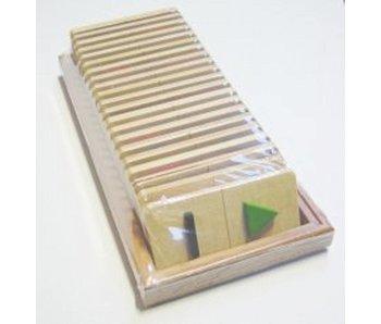 Spel Tast Domino Groot - vormen