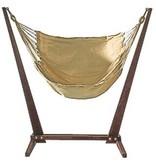 Raya Swingset- hangmatstatief met zithangmat   110 x 110 x 165cm