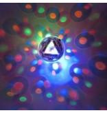 Onder water LED licht show