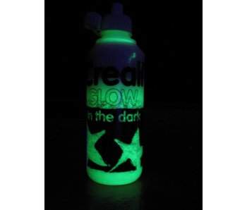 Glow In The Dark verf flacon 250 ml