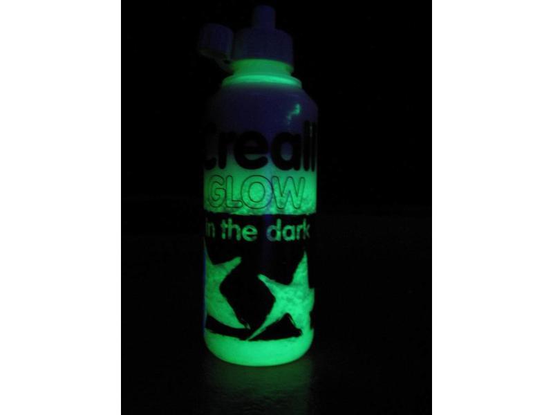 Glow In The Dark verf flacon 250 ml   250 ml