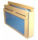 Atelier Michel Koene inklapbare bed Blokfink   matrasmaat 118 x 64cm