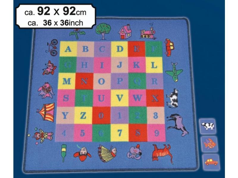 Spelkleed Memory training incl speelmateriaal   92x92cm