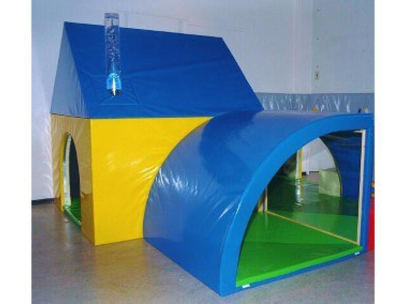 Atelier Michel Koene Spiegelhuis met sensor, Bisonyl   100 x 100 x 100cm