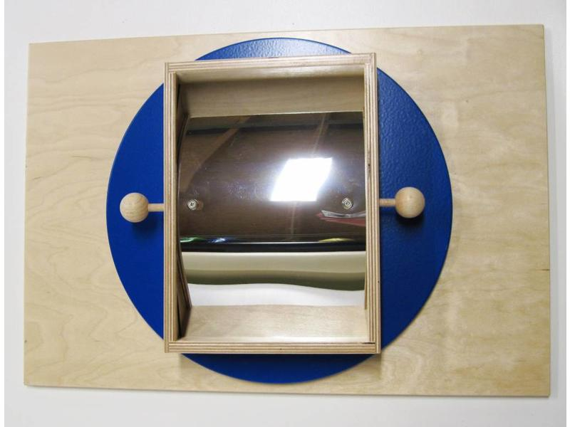 Verende lachspiegelplaat   57x39x9cm