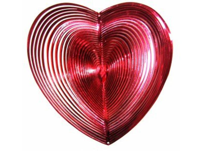 Mobiel hartvorm- rood of groen
