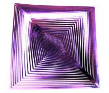 Mobiel vierkant- goud of paars