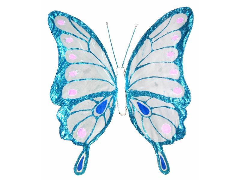 Vlinder groot- nylon   85cm