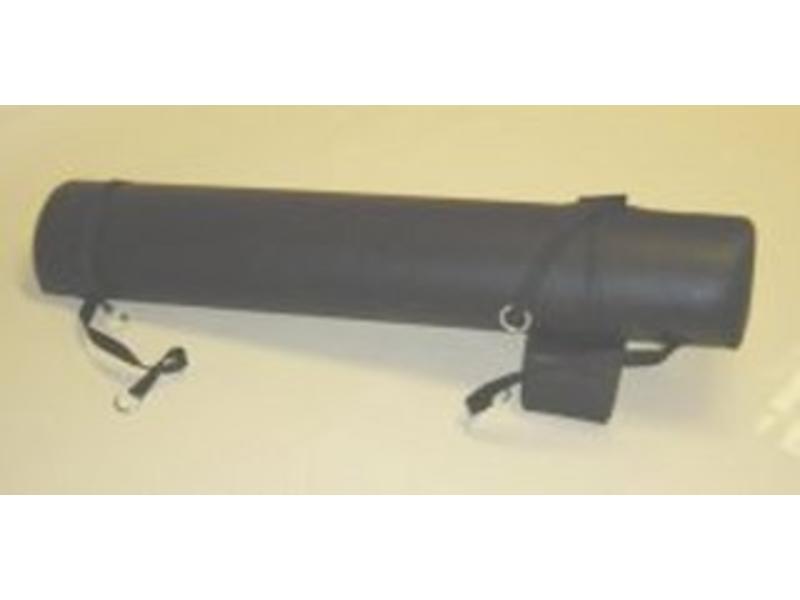 Rijzitschommel- zwart kunstleer   120 x 30cm