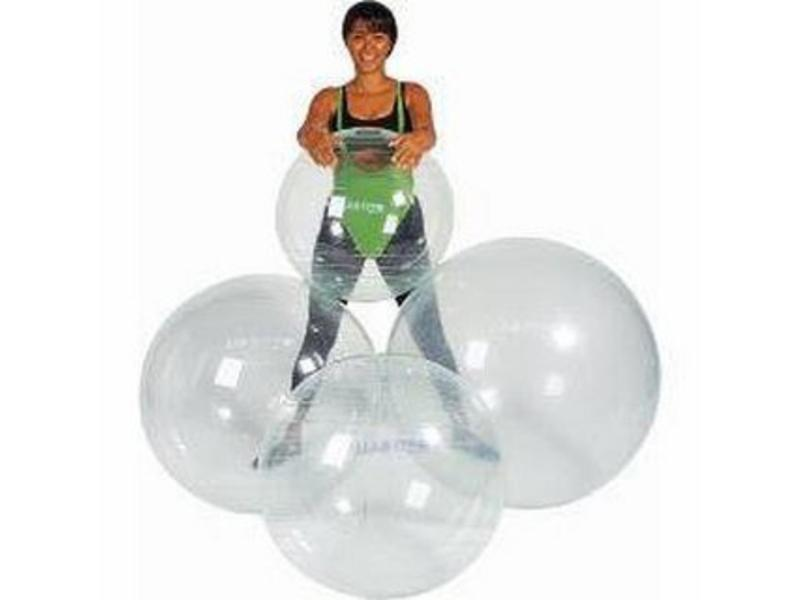 Gymnic Gymnic Optiball- doorzichtig  Ø75cm