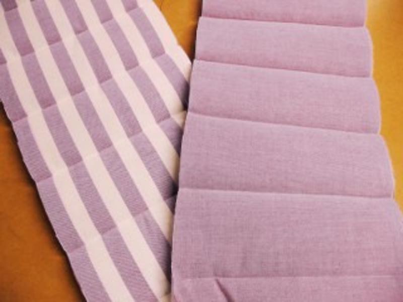 Gestepte WZ-stof 140gr, polyester vulling 100   160cm breed